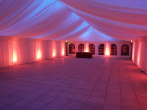 Marquee Hire Scotland Lighting